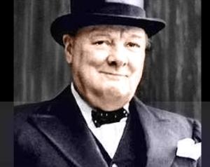 Du är inte Winston Churchill