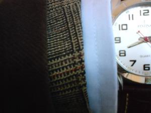 Tweed och bomullsrock
