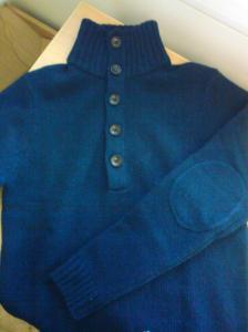 Ulltröja i skön blå ton. H&M.