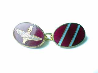 Parachute Regiment cufflinks
