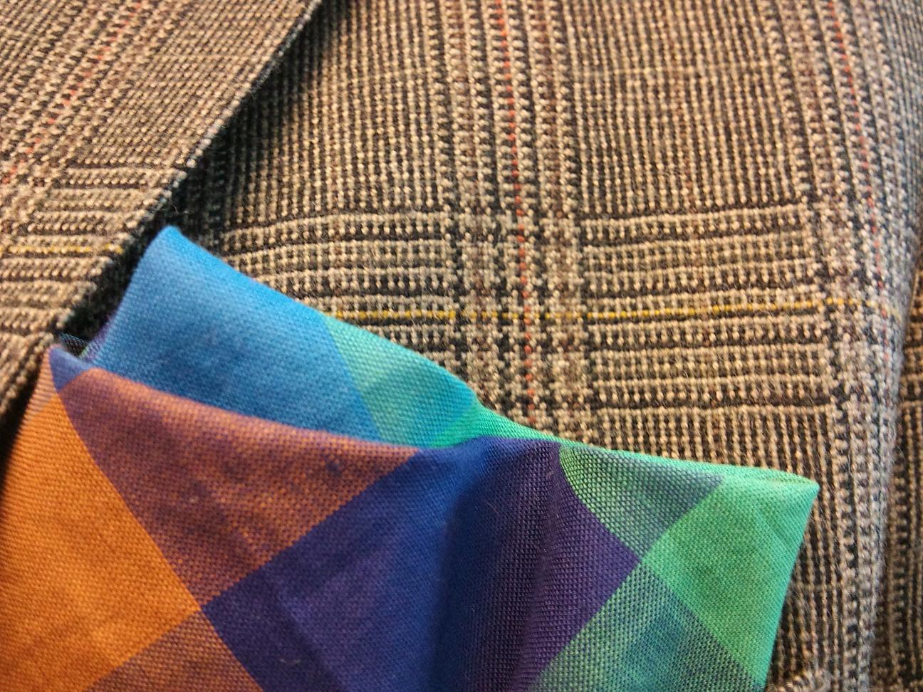 Slips. Näsduk och tweed 8683c452822ab