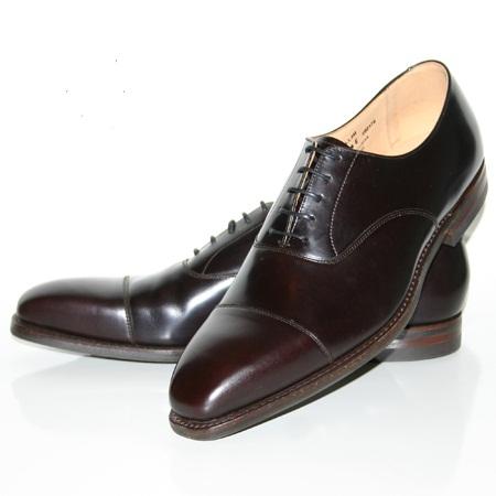 skor till kostym