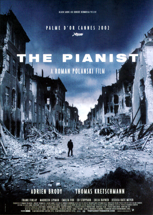 a film worthy of praise in the pianist by roman polanski Watch full length the pianist movie for free online watch the pianist (2002) free online release date: 2002 duration: 150 min the pianist is a historical film drama of 2002 co-produced and directed by roman polanski, scripted by ronald harwood.