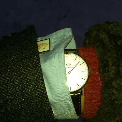 Tweed_orange_DW_cuff