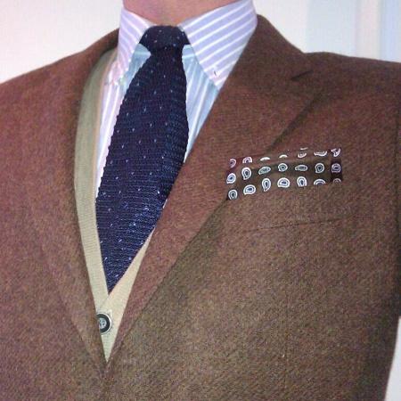Brown_brown_hank_knit_tie